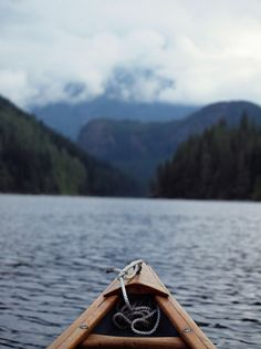 Canoeing in Powell River, B.C. by reclusive.North, via Flickr