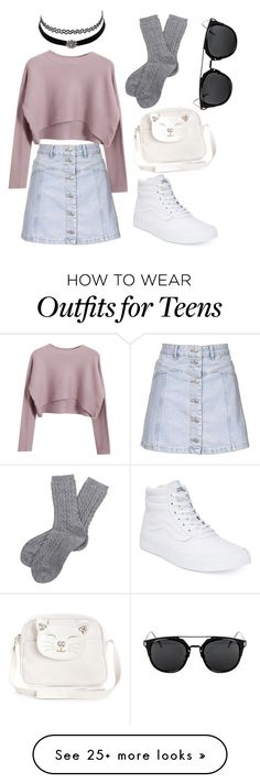"""Teens spirit"" by scatterbrain69 on Polyvore featuring Topshop, Charlotte Russe, Vans, Chicnova Fashion, Barbour and Monsoon"