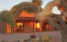 Mohave Building with 4 Guest Rooms at Sunset http://www.ranchseeker.com/index.cfm/pg/listing_details/id/11917/frompopup/0
