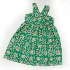 Vibrant Tula Dress from Tuk-Tuk Anouk with cut out back for girls