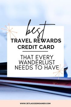 Wanna feel like you're living in luxury while traveling? Check out the best travel rewards credit card every frequent flyer needs. This travel credit card gives me the best travel rewards so I am always on a jet plane. Find out how to avoid the board gate and gain access to a Priority Pass with this travel reward credit card. Travel Reward Hacks // Travel Rewards // Travel Reward Hacks // Travel Rewards Programs Rewards Credit Cards, Best Credit Cards, Best Travel Apps, Travel Hacks, Travel Tips, Platinum Credit Card, American Express Platinum, American Express Credit Card, Travel Rewards