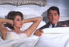 CYD CHARISSE as Bianca Russell Arden and DEAN MARTIN as Nicholas Arden in SOMETHING'S GOT TO GIVE 1962