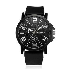 Luxury Quartz wristwatches Men Fashion Silicone strap Sport Victorian Style Regular price : $49.95 Available for $0.00 Sale