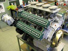 1987 Zagato Conversion – RS Williams Ltd – Aston Martin Heritage Specialist Aston Martin Virage, Aston Martin Cars, Motor Engine, Car Engine, Supercars, Classic Aston Martin, Mechanical Art, Mechanical Design, Aircraft Engine