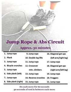 Liked this workout…took about 25 minutes…I did not take… Jumpropes-Ab Circut. Liked this workout…took about 25 minutes…I did not take… – Mma Workout, Jump Rope Workout, Workout Fitness, Workout Wear, Fun Workouts, At Home Workouts, Daily Workouts, Exercise Routines, Excercise