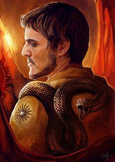 """Oberyn """"Red Viper"""" Martell"""