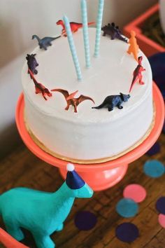 dinosaur birthday birthday party dino cake dinosaurs 3 year old party Third Birthday, 3rd Birthday Parties, Birthday Fun, 3 Year Old Birthday Party Boy, Birthday Ideas, 3 Year Old Birthday Cake, Children Birthday Party Ideas, Birthday Cake Boy, Simple First Birthday