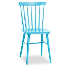 Spindle Back Chair - Aqua