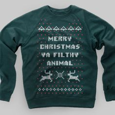 Home Alone Christmas Sweater TShirt by chitownclothing on Etsy