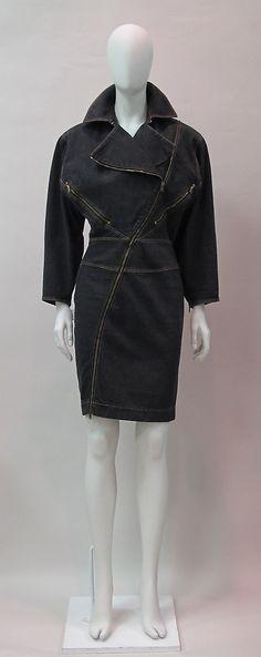 Dress Azzedine Alaïa (French, born Tunisia, 1940) Date: 1986 Culture: French…