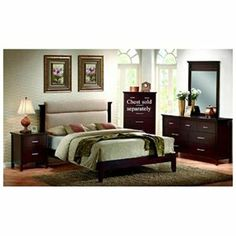 Kendra California King Bedroom Set by Coaster Furniture 1 of 1