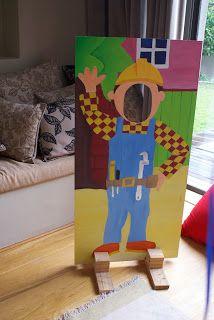 Bob the Builder photo board