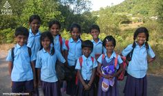 Kids from Kadamane School, Karnataka