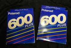 2 Polaroid 600 Plus Instant Color Film COLOR 10 Pack Unopened Expired 05/92