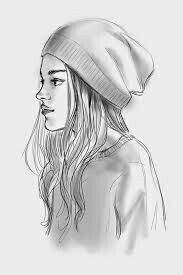 Image result for sketches of best friends forever boy and girl