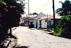 Charlestown, #Nevis - Circa 1993.  Look how tranquil it was then.  Gotta love the Kodak sign...does anybody use film anymore? :)