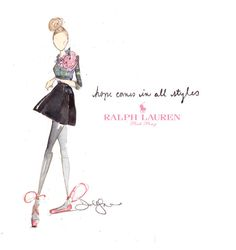 Ralph Lauren illustrated by Dallas Shaw. Flawless.