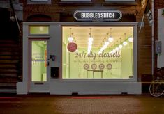 Mobile Laundry Startups - Bubble & Stitch is an App-Driven 24-Hour Laundering Service in Amsterdam (GALLERY)