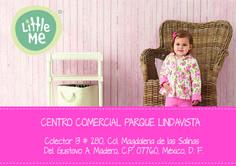 Visítanos en:  Nuestra sucursal Parque Lindavista, en donde encontraras, gran variedad de ropa para tu pequeño.