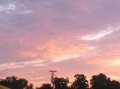 Sunrise July 17, 2013