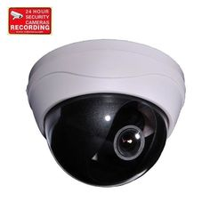 VideoSecu CCD Zoom Dome Security Camera 420TVL 4-9mm Varifocal Lens for Home CCTV DVR Surveillance System with Power Supply, Preamp Microphone, Extension Cable and Security Warning Sticker CGZ by VideoSecu. $69.99. This dome camera comes with 4-9mm zoom lens. The high-speed electronic shutter compensates for lighting alterations. A backlight compensation circuit makes it possible to capture images even in dazzle light conditions. The camera is adjustable full 360-degree hor...