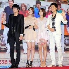 Heartstrings/You've Fallen For Me--from left: Jung Yong Hwa; So Yi Hyun; Jung Yong Hwa, Park Shin Hye, Heartstrings, You're Beautiful, Asian Actors, K Idols, Korean Drama, Dramas, Actors & Actresses