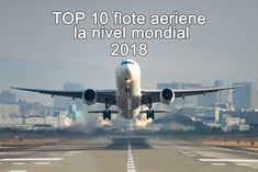 TOP 10 flote aeriene la nivel mondial (2018)