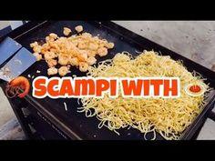 ♨️ How To Make Shrimp Scampi With Linguini On A Blackstone Griddle Hibachi Recipes, Grilling Recipes, Cooking Recipes, Grilled Shrimp Recipes, Seafood Recipes, Top Recipes, Healthy Recipes, Recipies, Easy Recipes