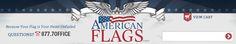 2' X 3' Perma-Nyl Colorfast American Flag