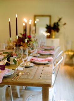 Thanksgiving Ideas & Decor  Read more - http://www.stylemepretty.com/living/2013/11/20/thanksgiving-ideas-decor/