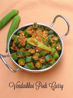 Ladiesfinger podi curry, Vendaikkai Podi curry