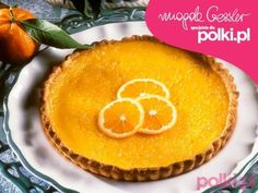 Mazurek pomarańczowy Magdy Gessler Easter Recipes, Holiday Recipes, Polish Recipes, Polish Food, Pineapple, Muffin, Food And Drink, Cooking Recipes, Pudding