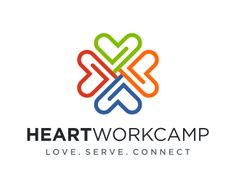 Heart Workcamp Logo design - HeartWorkcamp<br />Collaboration<br />Humanity Price $149.00