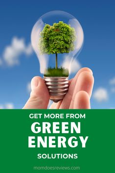 Get More from Green Energy Solutions #greenliving #ecofriendly #homeandliving Energy Use, Save Energy, Types Of Renewable Energy, Energy Supply, Energy Efficient Lighting, Energy Bill, Best Solar Panels, Water Sources, New Green
