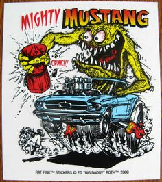 Rat Fink Hot Rod Art - Bing Images