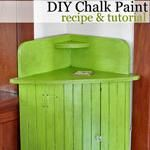 How To Make and Paint With DIY Chalk Paint