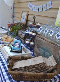 @Catie @ Catie's Corner Case, look what I found.... Little Blue Truck Birthday Party