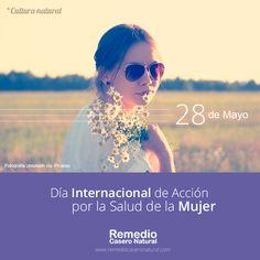 28 de Mayo, Día Internacional de Acción por la Salud de la Mujer. Es una excelente ocasión para aprender más acerca de la salud en la mujer. Como sobre Problemas Menopáusicos > www.remediocaseronatural.com/vida-saludable-menopausia.htm
