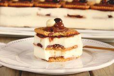 Tarta de galletas y crema de chocolate blanco - MisThermorecetas