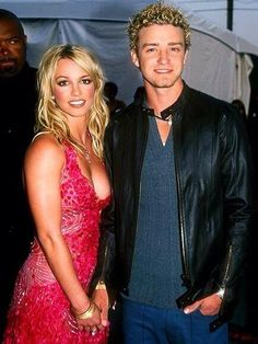 Justin & Britney Britney Spears Outfits, Britney Spears Photos, Britney Spears Justin Timberlake, Celebrity Couples, Celebrity Style, Britney Jean, Famous Couples, Nicole Richie, American Music Awards