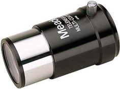 Meade 128 3x 1.25 Inches Barlow Lens by Meade. $44.38. Amazon.com                The Meade 128 3x Barlow Lens triples the magnifying power of your  eyepiece. Each lens includes two optical elements for high-resolution,  color-corrected imaging.                                       Product Description                Our #128 3x Short Focus Barlow triples the magnification of any 1.25-Inch eyepiece without adding a very long extension between the telescope and the eyepiece. Design...