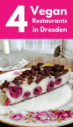 Dresden is one of Germany's most beautiful cities. If you're travelling there as a vegan, try out these vegan restaurants and cafes - from Not Just an Old City - Vegan Restaurants in Dresden