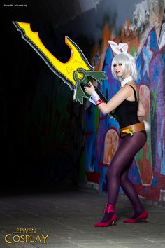 Share My Cosplay, Cosplayer Efwen Cosplay as Battlebunny Riven from...