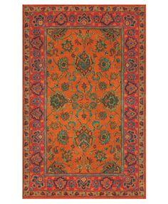 Liora Manne Rugs, Petra 9054/17 Agra Mandarin