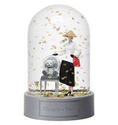 Snow globe, Christian Dior for Harrods collection