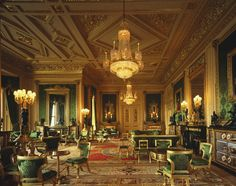 The Green Drawing Room at Windsor Castle