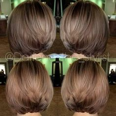 Balayage Hair Color Ideas for Shoulder Length Hair. After the hot ombre hairstyles, more and more people trying the balayage,Balayage hairstyles and trends for dark . Blonde Balayage Bob, Short Balayage, Hair Color Balayage, Ashy Blonde, Subtle Balayage, Balayage Hairstyle, Bayalage On Straight Hair, Short Blonde, Short Hair Cuts