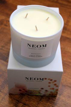 Conscious Consumer // NEOM Organics 'Happiness Candle' // RENIQLO