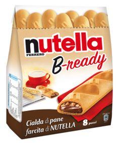 Nutella B-ready: il nuovo snack della Ferrero è arrivato nei supermercati. Troppe calorie, troppi grassi e prezzo elevato