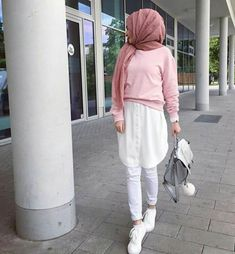 Hijab Casual, Hijab Chic, Islamic Fashion, Muslim Fashion, Modest Fashion, Eid Outfits, Latest Outfits, Fashion Outfits, Hijab Mode Inspiration